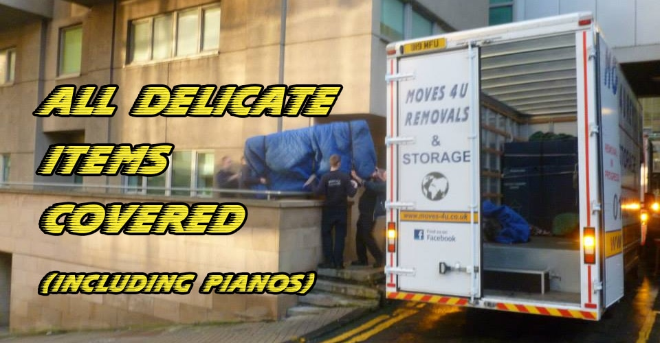 """Do you use protective packaging and move pianos?"""